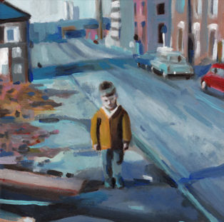 ילד ברחוב