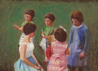 ילדים בגן
