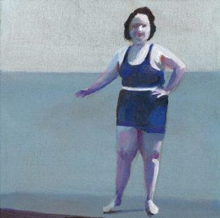 אישה בים
