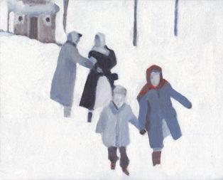 טיול בשלג